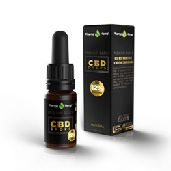 17位:PharmaHemp PREMIUM BLACK CBD DROPS / 1200mg / 16.5円
