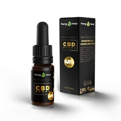 14位:PharmaHemp PREMIUM BLACK CBD DROPS / 660mg / 14.8円