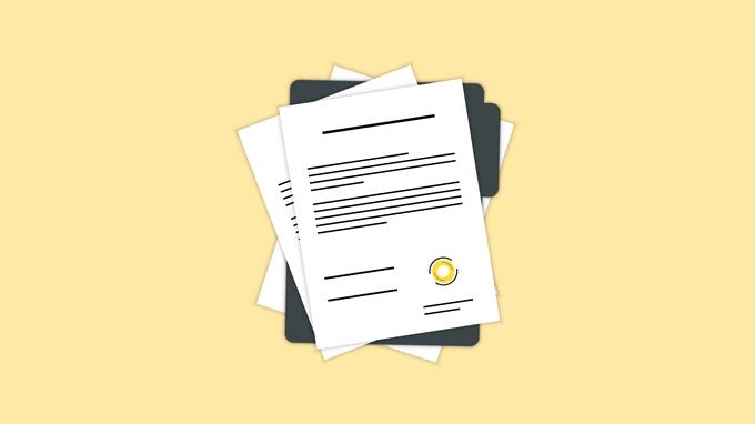 CBD 製品についての書類を用意する