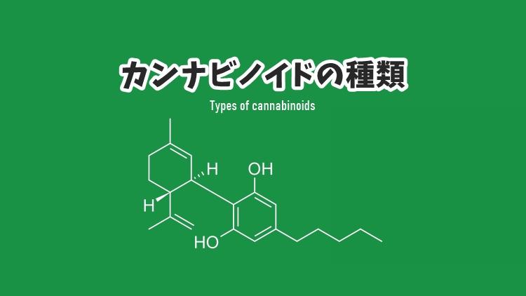 カンナビノイド(Cannabinoid)の種類